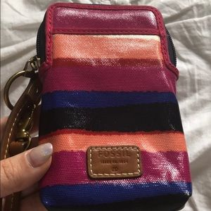 Fossil Bags - NWOT Fossil phone wristlet